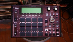 MPC1000 rosewood custom by ghostinmpc