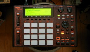 OMSB (SIMI LAB) MPC1000 rosewood custom by ghostinmpc