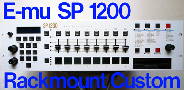 SP1200 rackmount custom by ghostinmpc