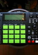 MPC1000 Flat Black custom by ghostinmpc